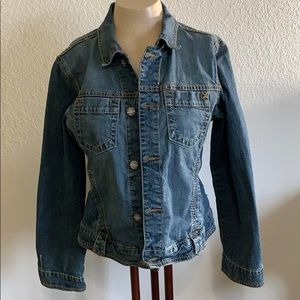 Cabi denim jacket size M
